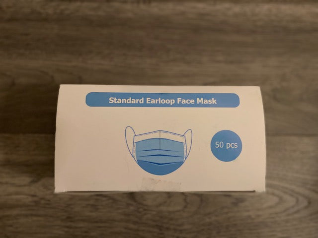 3 Ply Hypoallergenic Face Masks