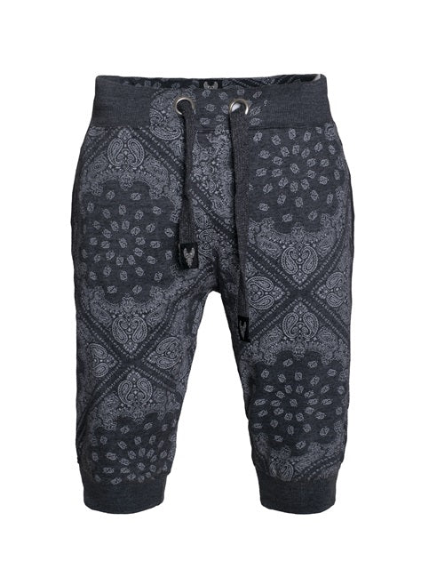 Hawk's Bay Bandanna Jogger Shorts-Jr-12/61