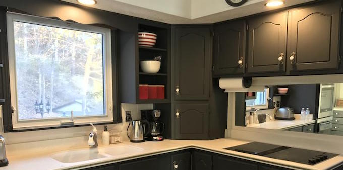 Kitchen makeover in Fusion Mineral Paint