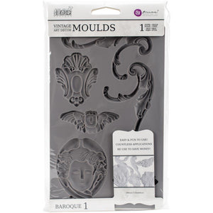 Iron Orchid Design Baroque 1 Mould - colourmekt