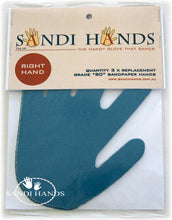 Grits for Sandi Hands - mixed bag of 3 grits 80/120/180 D - Colour Me KT