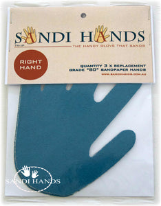 Grits for Sandi Hands - mixed bag of 3 grits 80/120/180 - colourmekt