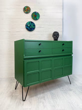 Green Nathan Sideboard or Drinks Cabinet