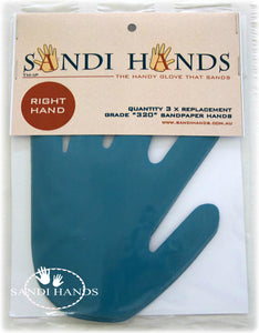 Grits for Sandi Hands - mixed bag of 3 grits 120, 240, 400 - colourmekt