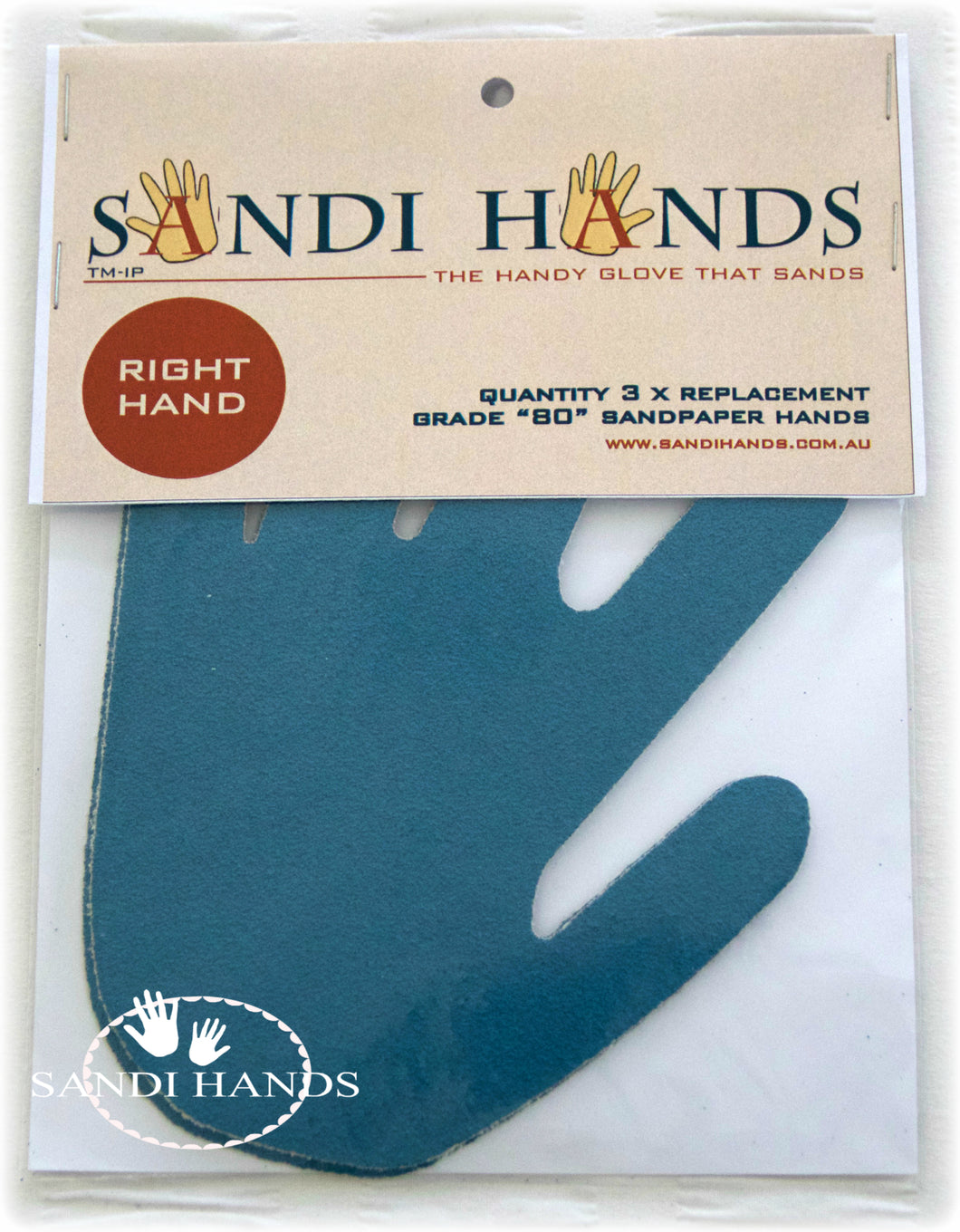 Sandi Hands - Pack of 3 grits - Colour Me KT