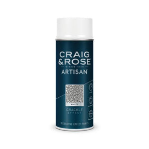 Artisan - White Crackle Effect Paint 400ml - colourmekt