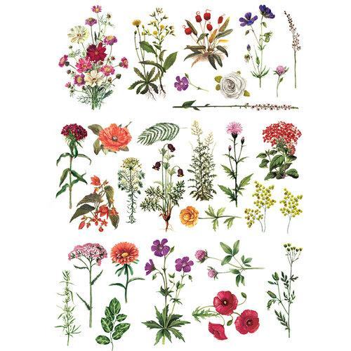 Re Design with Prima Transfers - Floral Collection