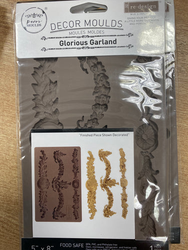 Re Design with Prima Mould - Glorious Garland - colourmekt