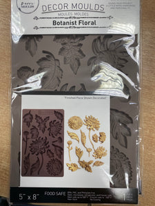 Re Design with Prima Mould - Botanist Floral - colourmekt