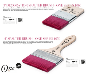 Staalmeester Spalter Brush 100mm – One Series 1050 - colourmekt
