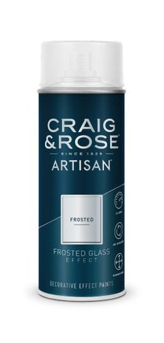 Artisan - White Frosted Glass Effect 400ml - colourmekt
