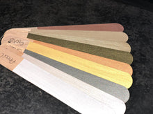 Hand Painted Sample Sticks - Metallics - colourmekt