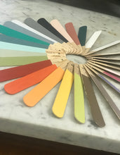 Hand Painted Sample Sticks - Fleur Paint Designer Eggshell