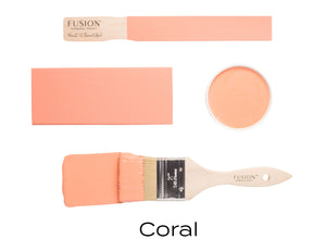 Fusion mineral paint | Coral | 500ml | Colour Me KT