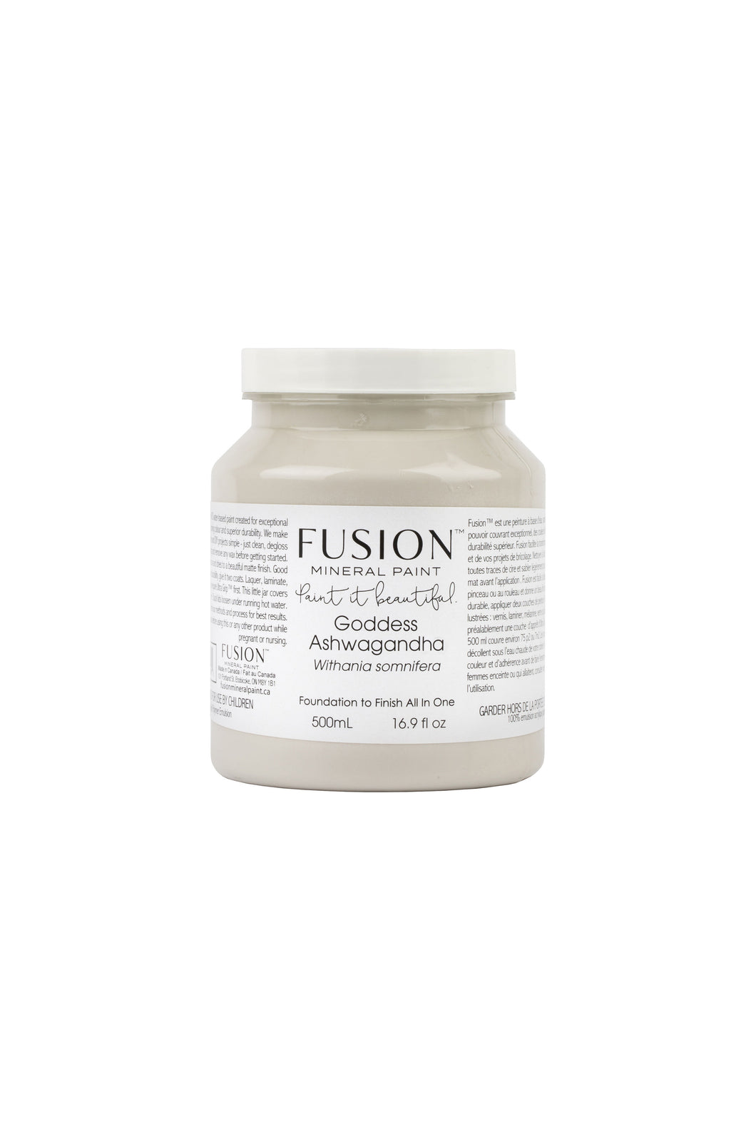Fusion mineral paint | Goddess Ashwagandha | 500ml | Colour Me KT