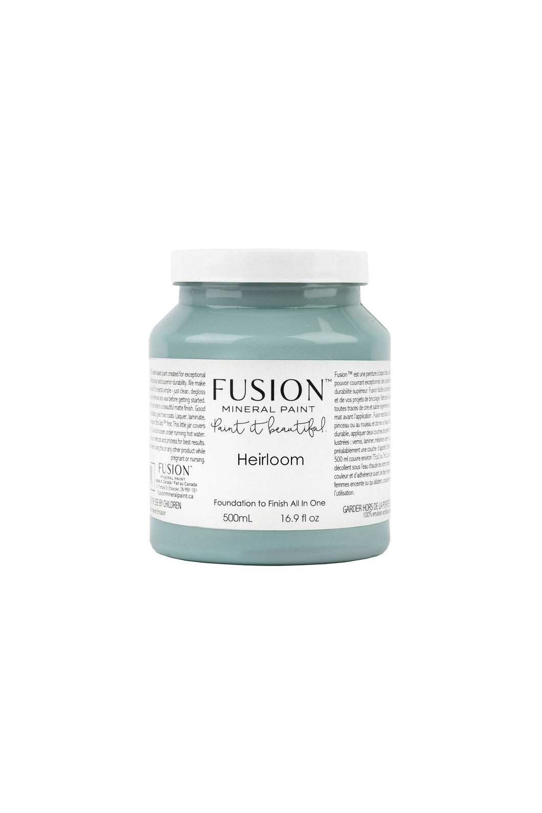 Fusion mineral paint | Heirloom | 500ml | Colour Me KT