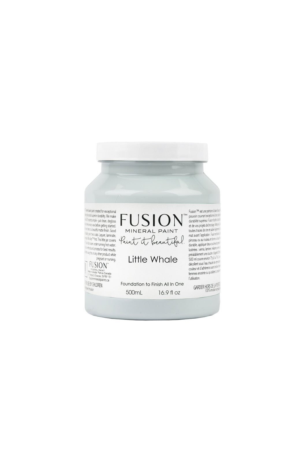 Fusion mineral paint | Little Whale | 500ml | Colour Me KT
