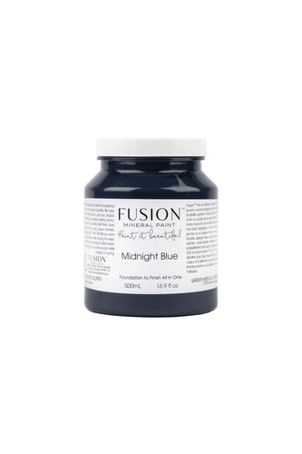 Fusion mineral paint | Midnight Blue | 500ml | Colour Me KT