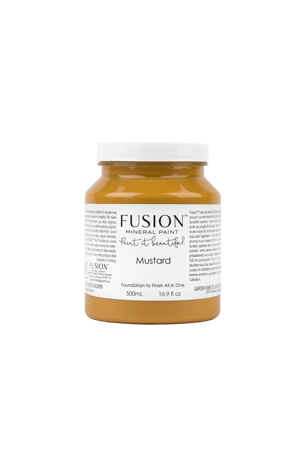 Fusion mineral paint | Mustard | 500ml | Colour Me KT
