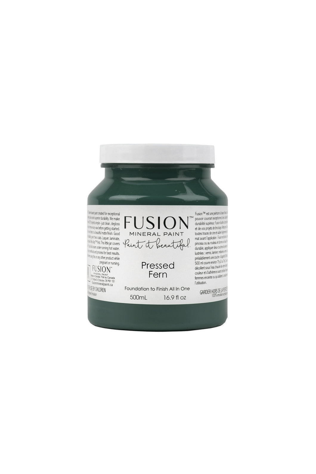 Fusion mineral paint | Pressed Fern | 500ml | Colour Me KT