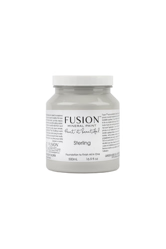 Fusion mineral paint | Sterling | 500ml | Colour Me KT