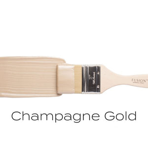 Champagne Gold Metallic Paint 250ml - colourmekt