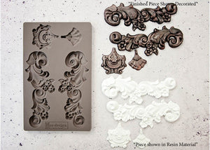 re-design with Prima Mould - Groeneville Crest - colourmekt