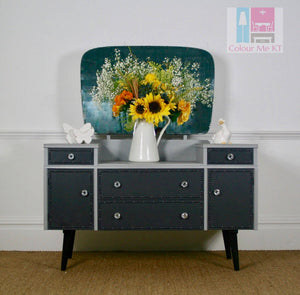 Grey Dressing Table - colourmekt