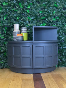 S O L D !!!  Nathan Corner Cabinet with Top Shelf - colourmekt