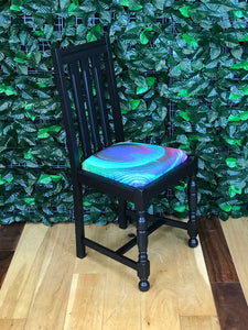 4 Black Dining Chairs - colourmekt