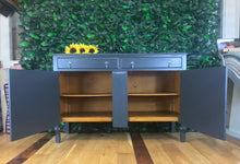 Grey Art Deco Sideboard - colourmekt