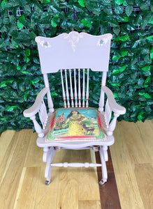 S O L D !!!!! Frida Kahlo Style Chair - colourmekt