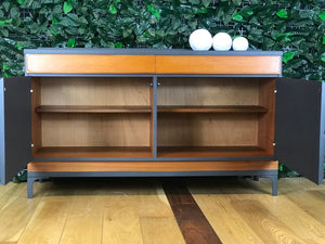 Mid Century Modern Grey Sideboard - colourmekt
