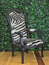 Black Zebra Chair - colourmekt