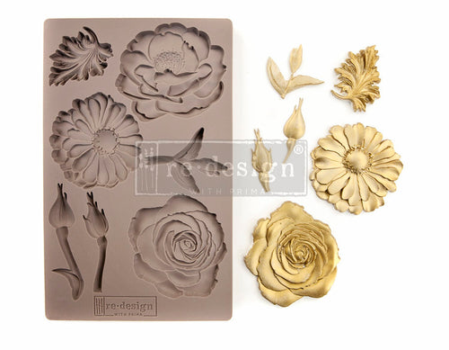 re-design with Prima Mould - In the Garden - colourmekt