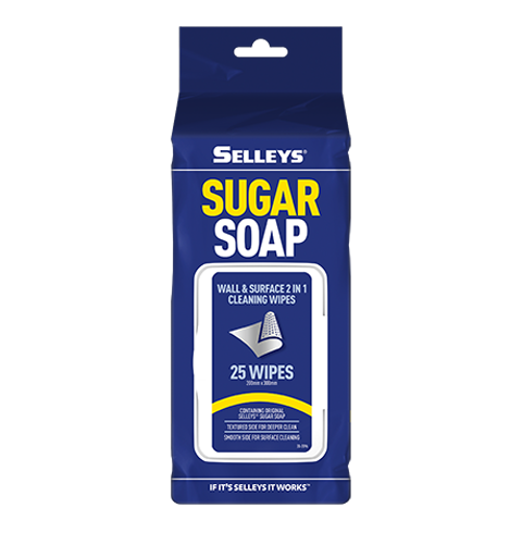 Selleys Sugar Soap Wipes 25 - colourmekt