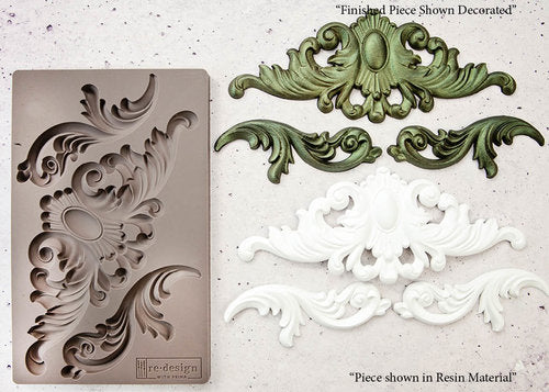 re-design with Prima Mould - Thorton Medallion - colourmekt