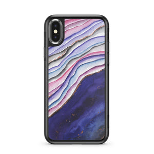 Agate Wave Phone Case - hyvela - Qi Enabled Wireless Charging Pad