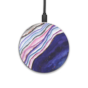 Agate Wave - hyvela - Qi Enabled Wireless Charging Pad