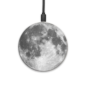 Full Moon - hyvela - Qi Enabled Wireless Charging Pad