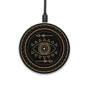 Shaman Eye - hyvela - Qi Enabled Wireless Charging Pad
