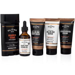 Men's Grooming Essentials - Olivina Men + Live Love Spa