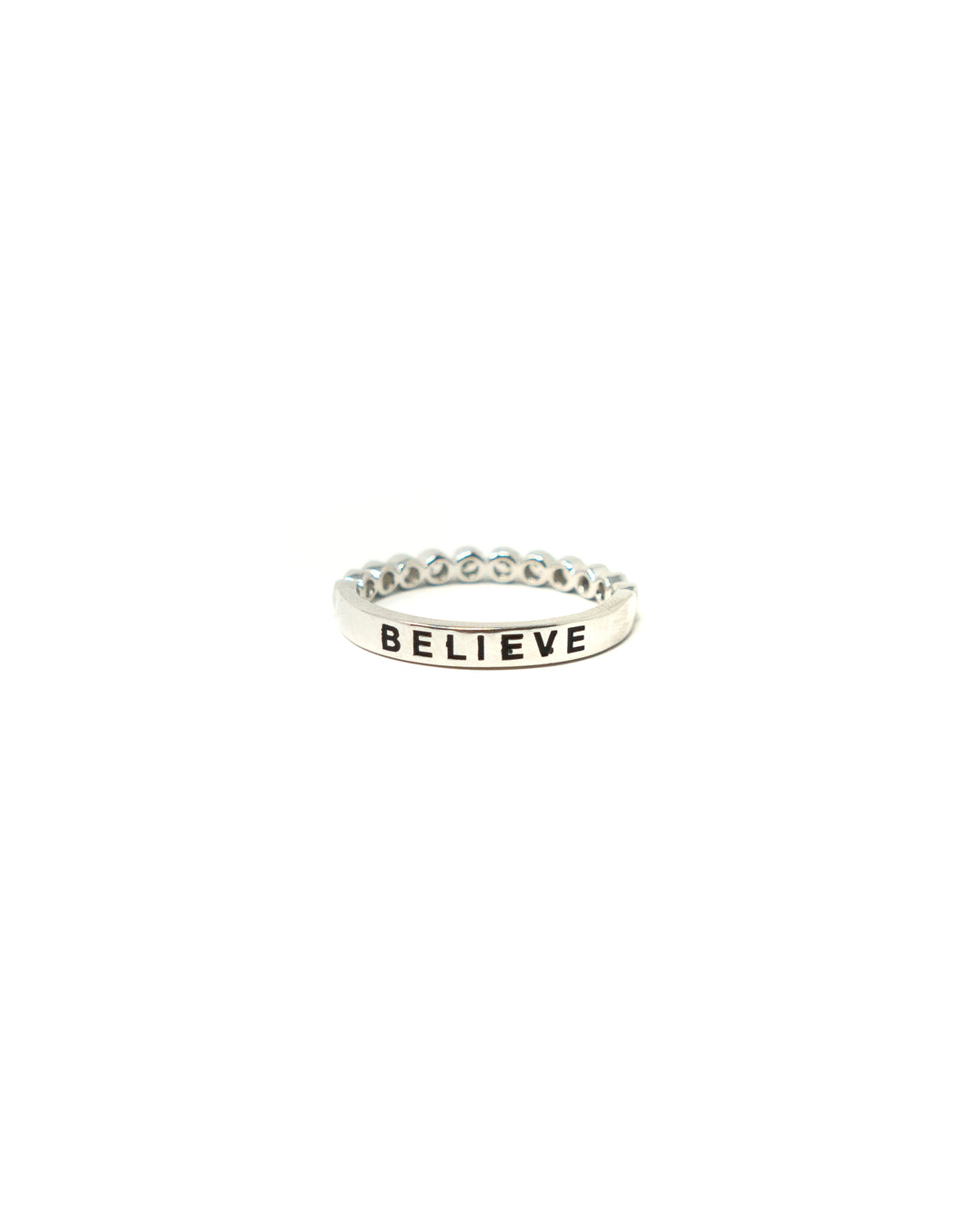 Affirmation Ring - Believe