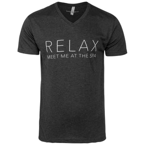 """Relax, Meet Me at the Spa"" Mens T-Shirt"