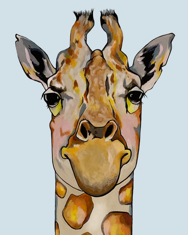 Gigi, a judge-y giraffe is judging you for judging her