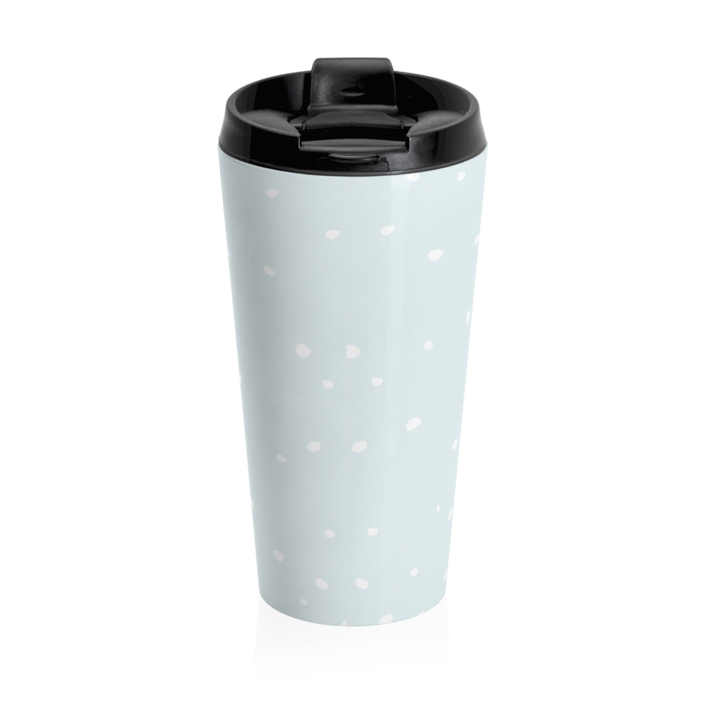 Holiday Pups Stainless Steel Travel Mug - Walker