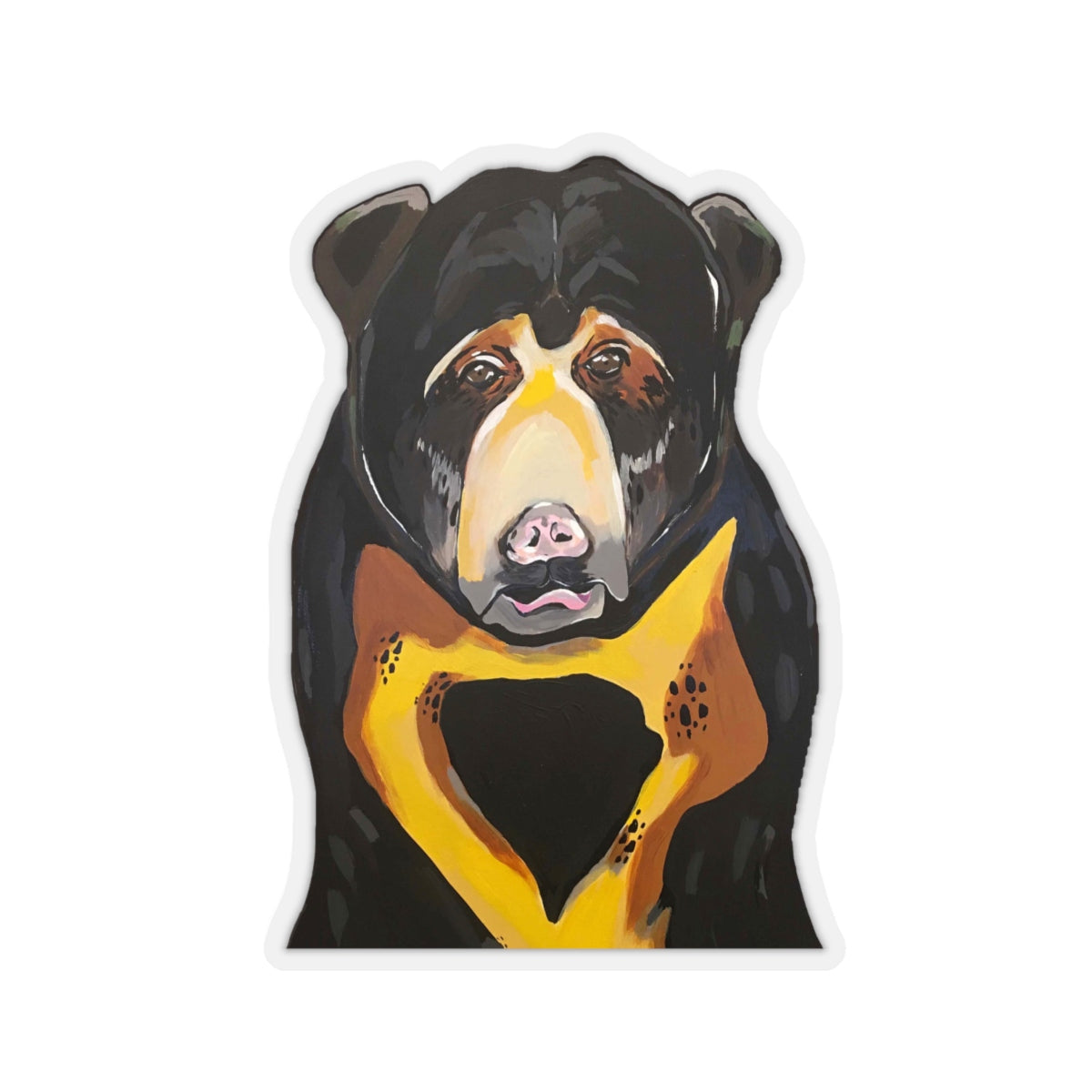 Sam the Sun Bear Kiss-Cut Sticker