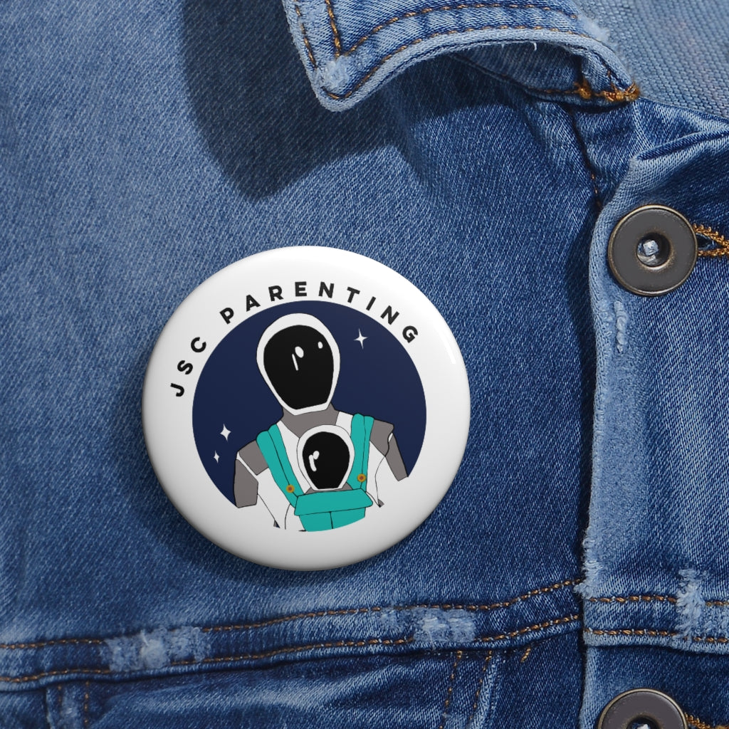 Working Parent Pin Button - ( JSC )