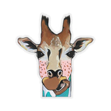 Load image into Gallery viewer, Mary Jane the Giraffe Kiss-Cut Sticker