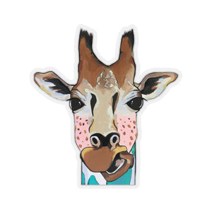 Mary Jane the Giraffe Kiss-Cut Sticker